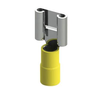 Terminal-Eletrico-Femea-Pre-Isolado-4-6mm2-Amarelo---FE66---Intelli